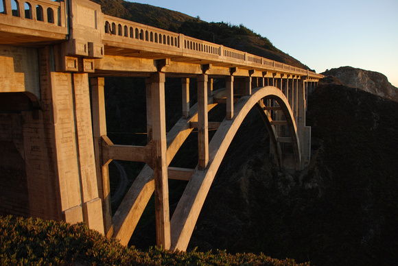 Bixby Bridge, Big Sur 2007