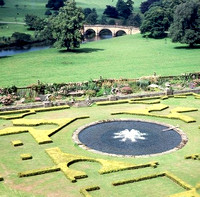 Home of Duke of Devonshire, Chatsworth England, 1973 (I was 11 years old)